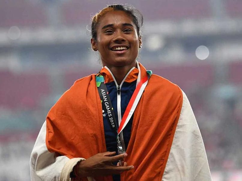 "Coronavirus: Hima Das Spreads Awareness About COVID-19 Pandemic With ""Safe Hands Challenge"""