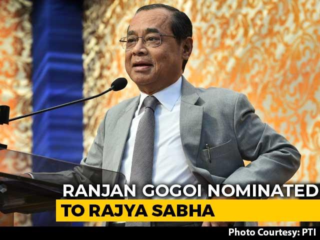 Video : Former Chief Justice Ranjan Gogoi Nominated To Rajya Sabha By President