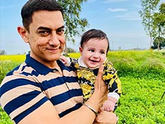 How Gippy Grewal's Baby Boy Gurbaaz Stole Aamir Khan's Thunder In These Viral Pics