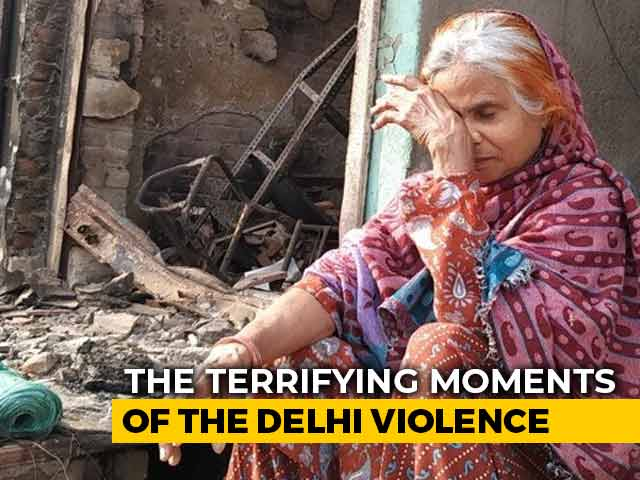 Video : Delhi Woman, 60, Recalls Escaping Arson, Children Jumped From First Floor