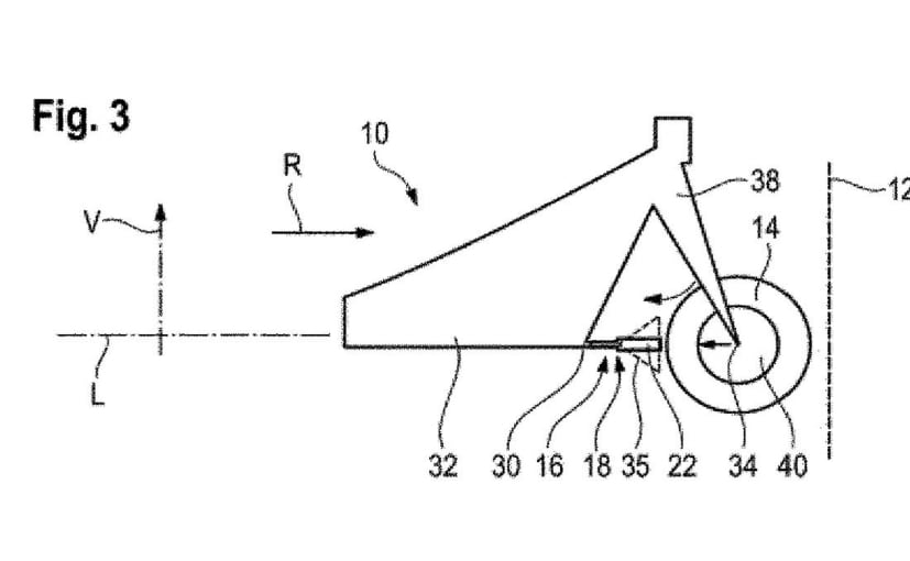 BMW Files Patents For Crumple Zone For Motorcycles