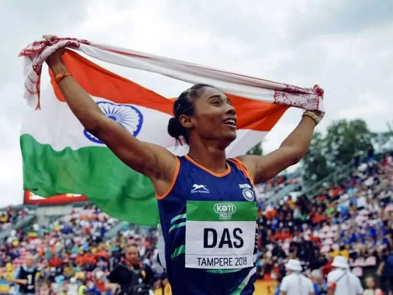 Indian Grand Prix: Hima Das Cruises To 200m Gold In Her First Race After More Than A Year
