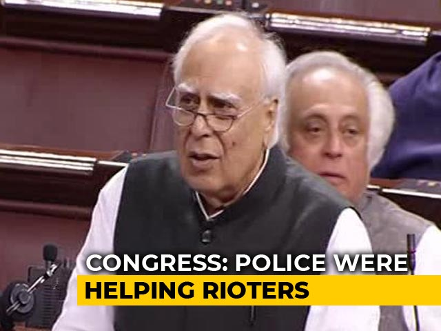 Video : Cows Protected, Not Humans: Kapil Sibal Lashes Out Over Delhi Violence