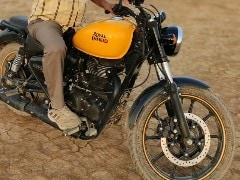 Royal Enfield Meteor 350 Spied Undisguised; Confirms New Nameplate
