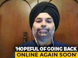 """Video : """"Hope To Go Online Soon"""": Grofers Official After Lockdown """"Hiccups"""""""