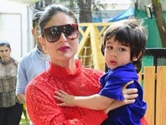 "Another Day, Another Artwork By Kareena Kapoor's ""In-House Picasso"" Taimur. Pic Inside"
