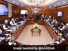 Altaf Bukhari Party's Delegation Meets Amit Shah