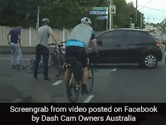 After Cyclist Collides With Car, Internet Divided Over Whose Fault It Was