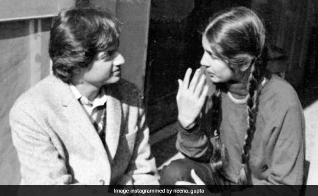 Neena Gupta Shares Throwback Pic With Filmmaker Bimal Roy's Son Joy: 'So Long Ago'