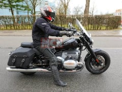 BMW R 18 Cruiser Stripped Down Variant Spotted On Test In Europe