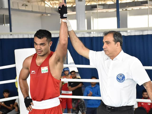Vikas Krishan Enters Quarters Of Asian Olympic Qualifiers