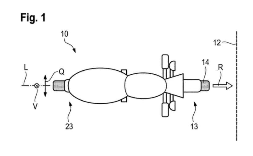 BMW Motorrad patent images reveal motorcycle crumple zone design