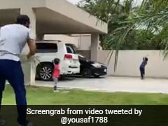 पूर्व दिग्गज मोहम्मद यूसुफ के बेटे की 'स्ट्रेट ड्राइव' देख, अजहर अली हुए हैरान, कह दी ऐसी बात VIDEO