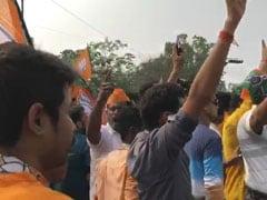 """In Heart Of Kolkata,<i> """"Goli Maaro""""</i> Slogan Ahead Of Amit Shah Rally"""