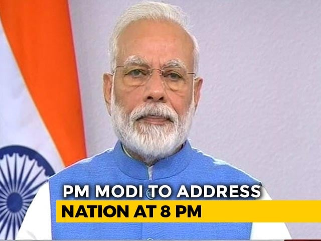 Video : PM's Second Address To Nation At 8 pm, Finance Minister's Address At 2 pm