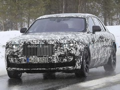 New-Generation Rolls-Royce Ghost Spotted Testing