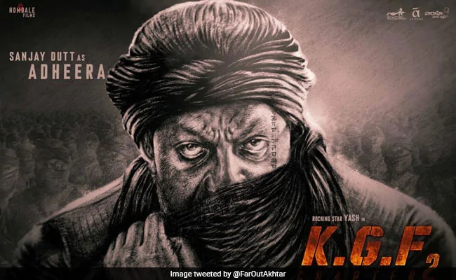 Sanjay Dutt as Adheera in KGF Chapter 2 Full Movie Doownload