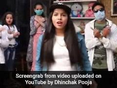 ढिंचैक पूजा ने बनाया कोरोनावायरस पर गाना, खूब देखा जा रहा Video