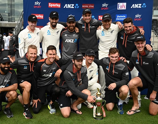 New Zealand Beat India By 7 Wickets To Sweep Test Series 2-0