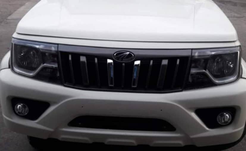 2020 Mahindra Bolero BS6 Facelift Spied; Majority Of The Changes Centred Around Its Looks