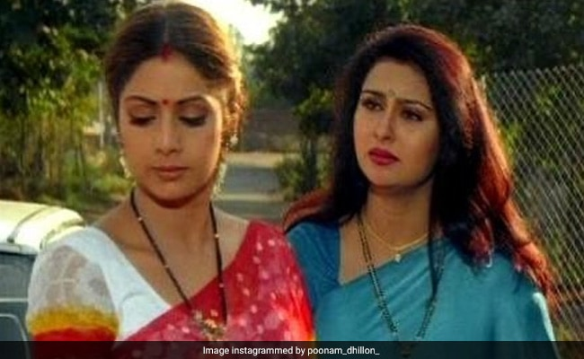 In Poonam Dhillon's 'Nostalgia Series,' Her Memories Of Sridevi, Rajinikanth, Kamal Haasan And Sanjay Dutt