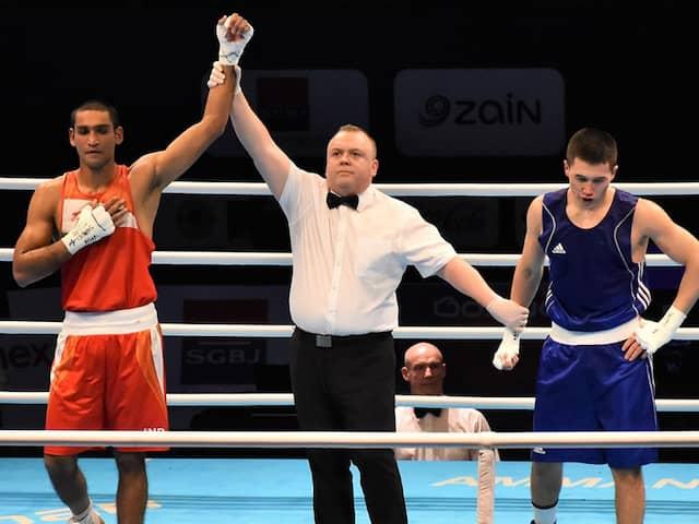 Asian Olympic Qualifiers: Ashish Kumar, Manish Kaushik Enter Quarters