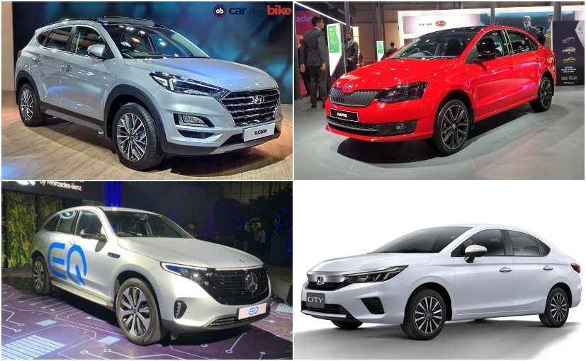 The new Honda City, Hyundai Tucson, Mercedes-Benz EQC, Skoda Rapid were to be launched soon