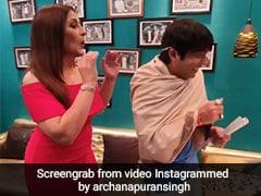 अर्चना पूरन सिंह के सामने छलका चंदू का दर्द, बोले- पता नहीं क्यों कपिल हमेशा मुझे भिखारी बना....देखें Video