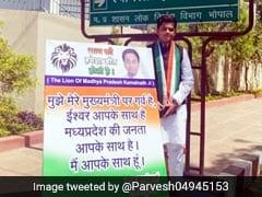 कांग्रेस सरकार को बचाने के लिए कमलनाथ के घर के बाहर खड़ा हुआ 13 साल का लड़का, बोला- 'तब तक रहूंगा जब तक...'
