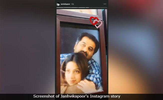 Sridevi And Boney Kapoor In Priceless Throwback, Shared By Janhvi