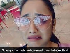 Bhojpuri Video: रानी चटर्जी कोरोनावायरस पर सलाह दे रही थीं, आया याद खुद का मास्क भूल बैठीं घर...देखें Video