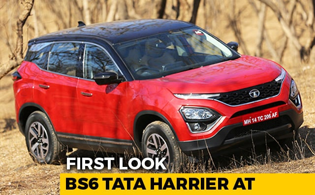 Video : Tata Harrier BS6 Automatic