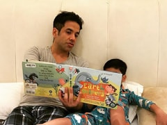 "How Tusshar Kapoor And Son Laksshya Are ""Making A Small Change For Our Planet"""