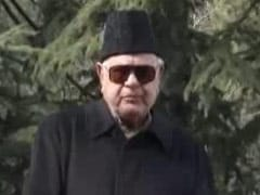 Farooq Abdullah Offers Rs 1.4 Crore From His MP Fund For Covid Management