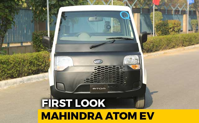 First Look: Mahindra Atom Electric Quadricycle
