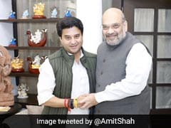 सिंधिया के BJP में शामिल होने के एक दिन बाद अमित शाह ने साथ में तस्वीर शेयर करते हुए लिखी ये बात