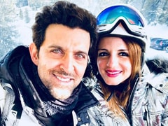 "Sussanne Khan Drops Black Hearts On Ex-Husband Hrithik Roshan's ""Stay Real"" Post"