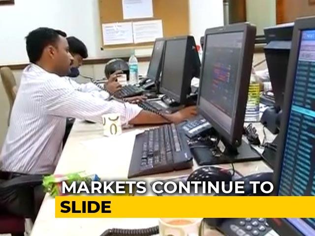 Video : Sensex, Nifty Fall As Coronavirus Spooks Global Markets