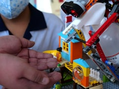 Taiwan Students Design Lego Disinfectant Dispenser To Fight Coronavirus