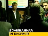 Video : S Jaishankar In Kashmir, Meets Families Of Students Stranded In Iran