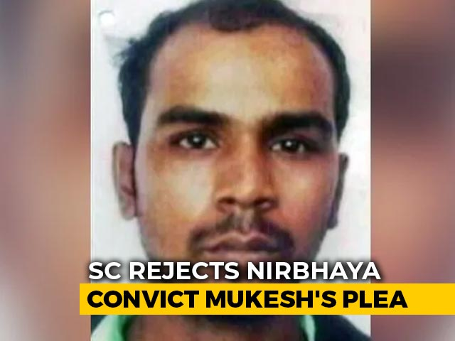 "Video : ""No Remedy Left"": Top Court Rejects Nirbhaya Convict's Fresh Request"