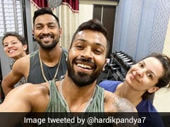 Hardik Pandya Shares Post-Workout Picture With Fiancee Natasa Stankovic, Family