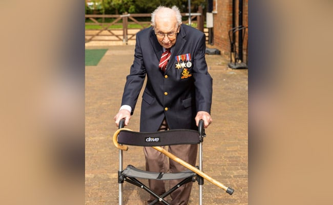 'They Are Brave': 99-Year-Old Briton Raises Millions For Health Workers