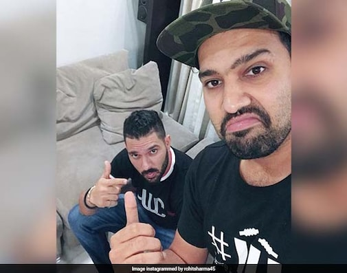 Rohit Reveals His 'Cricket Crush' In Chat With Yuvraj