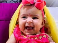 कपिल शर्मा ने पोस्ट की नन्ही बेटी की Photos, 3 महीने की बच्ची ने क्यूटनेस से जीता सबका दिल