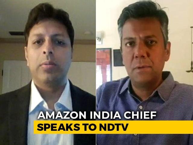 "Video : ""Unprecedented Times, Supplying Essentials Priority"": Amazon India Chief"