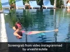 उर्वशी रौतेला का पूल में दिखा जबरदस्त अंदाज, Video शेयर कर बोलीं- आइसोलेशनशिप में हूं...