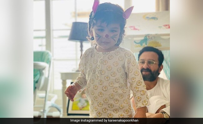 'My Easter Bunnies For Life': Kareena Kapoor Shares Adorable Picture Of Saif Ali Khan And Taimur