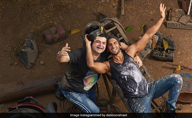 Ranveer Singh And Dabboo Ratnani's BTS Pic Takes Us To The Gully Of Throwbacks