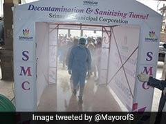 In Srinagar COVID-19 Fight, '<i>Jugaad</i>' Road Sprayers, Disinfectant Tunnels